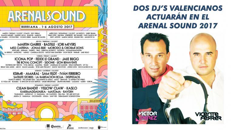 DOS DJ'S VALENCIANOS ACTUARÁN EN EL ARENAL SOUND 2017