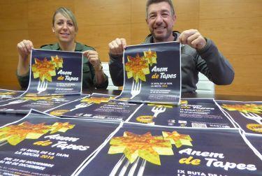 IX Ruta de la Tapa en  La Nucía con premios y sorteos