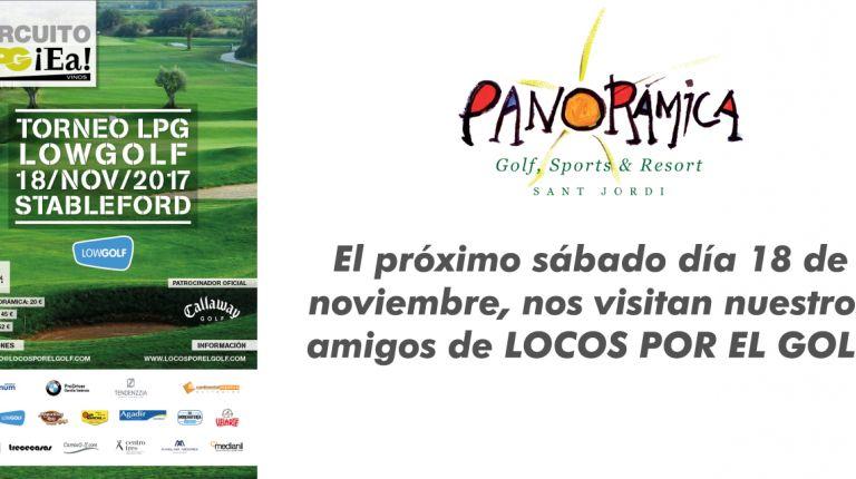Panoramica Golf, 18 de Noviembre, Torneo Locos por el Golf