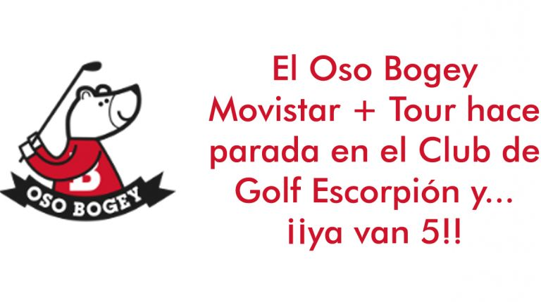 Oso Bogey en Club de Golf Escorpión