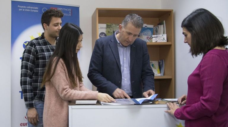 La Diputación de Castellón inaugura su oficina Europe Direct
