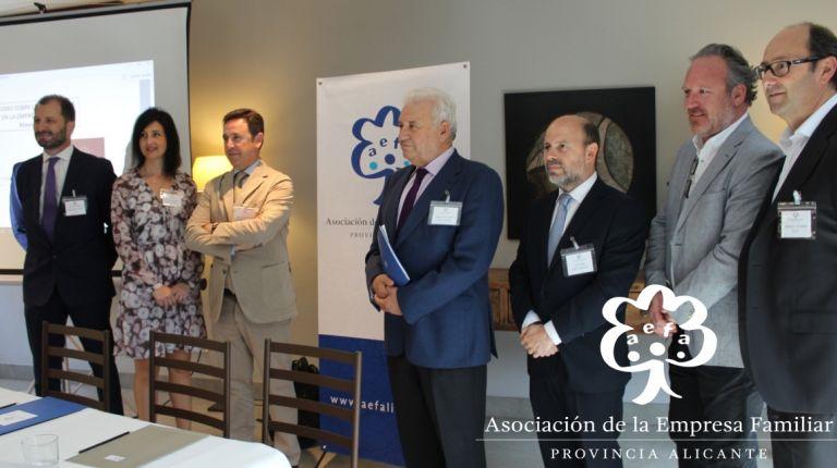 La mitad de las empresas familiares de la provincia de Alicante cuentan con un plan de sucesión en su gestión