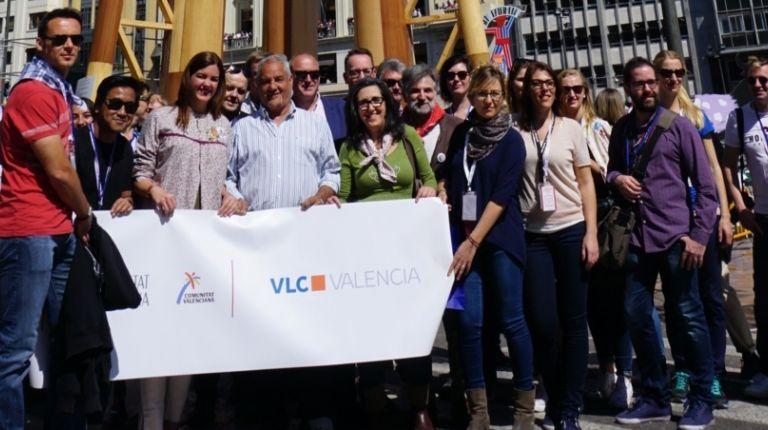 Más de 55 periodistas internacionales, procedentes de 16 países diferentes, se han desplazado a Valencia para conocer y disfrutar de las Fallas