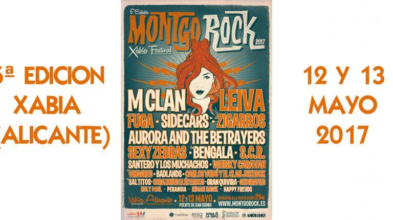 Ya se conoce el cartel definitivo de Montgorock Xàbia Festiva