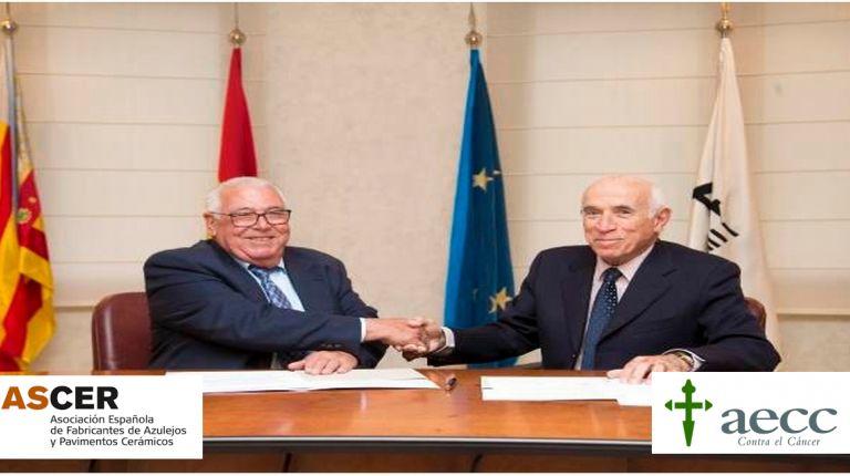 ASCER firma un acuerdo de colaboración con la Asociación Española contra el Cáncer