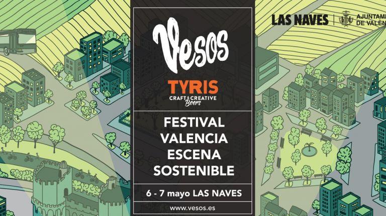 El Festival VESOS lleva de nuevo a Las Naves propuestas culturales, gastronómicas y de sostenibilidad