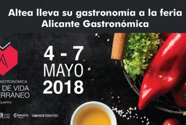 Altea lleva su gastronomía a la feria Alicante Gastronómica