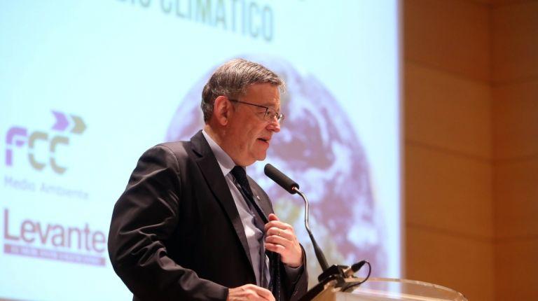 """Puig apuesta por una política medioambiental """"transversal"""" basada en las energías renovables para combatir el cambio climático"""