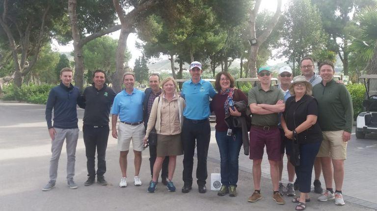 Se promociona la oferta de turismo de golf de la CV con la organización de un viaje de familiarización